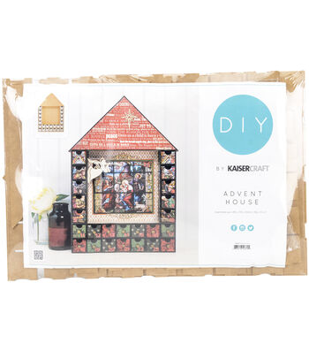 Kaisercraft Beyond The Page MDF Shadow Box Advent House Calendar