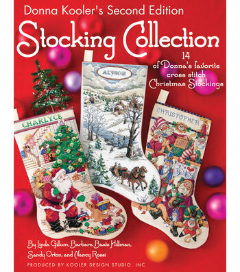 Leisure Arts-Christmas Stocking Book 2
