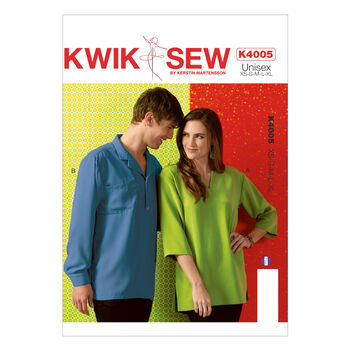 Kwik Sew Pattern K4005 Adult Tops