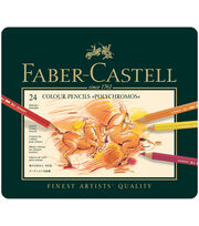 Faber-Castell® Polychromos Colored Pencil Set In Metal Tin, , hi-res