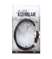 Tim Holtz® Assemblage Loop & Hitch Cuff-Brown, , hi-res
