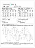 Vogue Patterns Mens Top-V8759