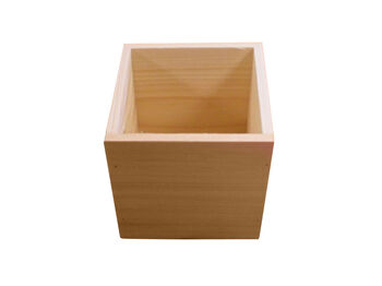 "5"" Plain Wood Box"