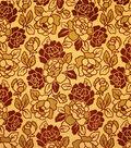 Home Decor 8\u0022x8\u0022 Fabric Swatch-Upholstery Fabric Barrow M8754-5498 Cinnabar