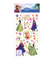 Disney's Frozen Stickers-Anna & Flowers, , hi-res