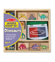 Melissa & Doug Dinosaur Stamp Set, , hi-res
