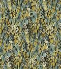 Robert Allen @ Home Print Fabric 54\u0022-Floral Sonata Aloe