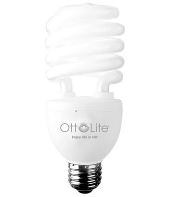 OttLite HD Compact Fluorescent Bulb Edison Base 25W