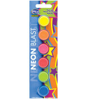 Deco Art Seasonal Paint Pots 6Pk-Neon Blast, , hi-res