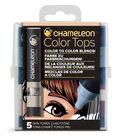 Chameleon 5 pk Color Tops Set-Skin Tones