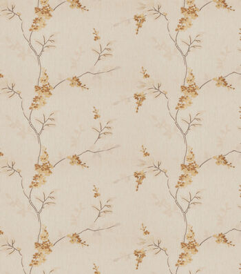 """Eaton Square Print Fabric 51""""-Rosehips/Butterscotch"""