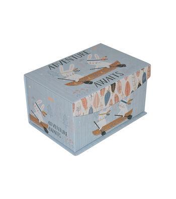 Organizing Essentials™ Small Flip Top Box-Wild & Free