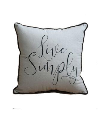 Hudson 43 Farm 18''x18'' Print Pillow-Live Simply