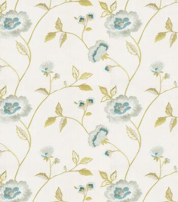 "Eaton Square Print Fabric 51""-Rhodes/Mist"