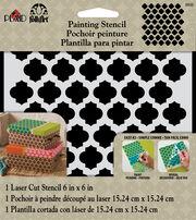 FolkArt® Painting Stencils - Small - Casablanca, , hi-res