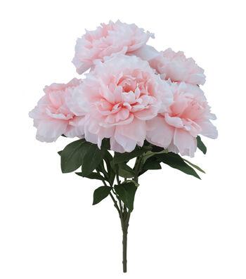 Fresh Picked Spring 19'' Peony Bush-Light Pink