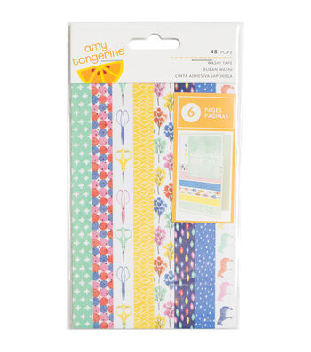 American Crafts™ Amy Tan Finders Keepers Washi Tape With Gold Foil