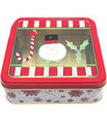 Holiday With Susan Winget Small Joy Snowman Clear Lid Square