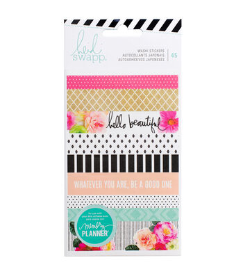 Heidi Swapp Memory Planner Pack of 45 Washi Sticker Sheets