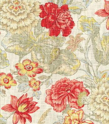 "Waverly Print Fabric 54""-Sonnet Sublime/Crimson"