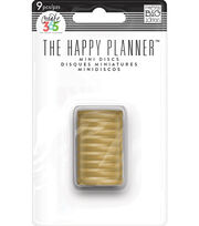 Create 365 The Happy Planner™ Mini Discs-Gold Classic, , hi-res