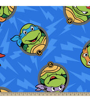 "Teenage Mutant Ninja Turtles Fleece Fabric 59""-Turtle Head Toss, , hi-res"