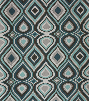 "Richloom Studio Print Fabric 55""-Owen Glacier"