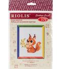 RIOLIS Counted Cross Stitch Kit 5\u0022X5\u0022-Small Squirrel