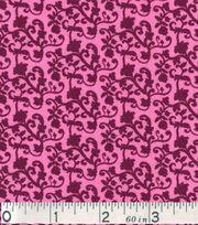 "Keepsake Calico™ Cotton Fabric 43""-Vine Pink Purple, , hi-res"