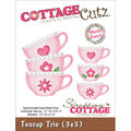 Cottage Cutz Die Teacup Trio