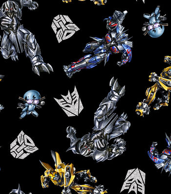 "Transformers Movie Cotton Fabric 43""-Transformers"