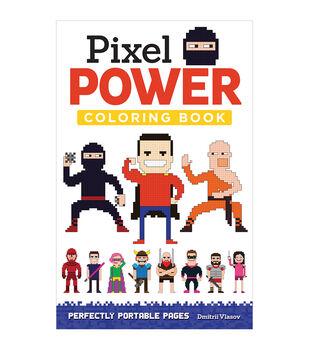 Adult Coloring Book Design Originals Pixel Power