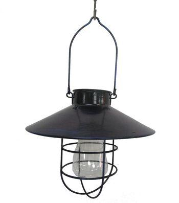 Americana Patriotic Solar LED Lantern-Blue
