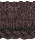 Wav 3/16 3-ply Lip Cord 12yd Chocolte Br