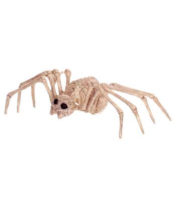 The Boneyard Halloween Mini Skeleton Spider