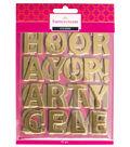 Buttercream™ Olivia Collection Designer Letter Stickers