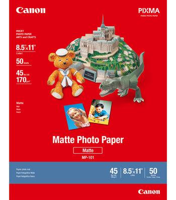 Canon PIXMA 50 pk 8.5''x11'' Matte Photo Papers