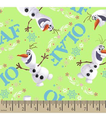 Disney Frozen Olaf Toss Cotton Fabric