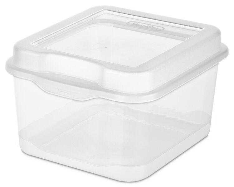 sterilite fliptop - Wreath Storage Box
