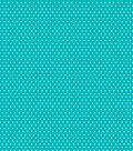 Core\u0027dinations Core Basics Patterned Cardstock 12\u0022X12\u0022-Teal Small Dot