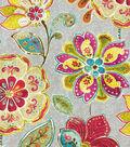 Home Decor 8\u0022x8\u0022 Swatch Fabric-Iman Javanese Garden Blossom