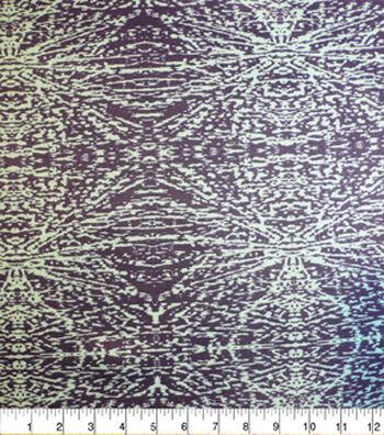 "Nicole Miller Twill Fabric 57""-Teal"