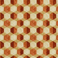Williamsburg Print Fabric 54\u0022-Iznik Tile/Cinnamon