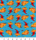 Snuggle Flannel Fabric 42\u0022-Tacos And Chili Peppers