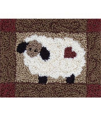 Rachel's of Greenfield Punch Needle Kit Sheep