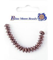 Blue Moon Metal Beads-Rondelle 22PK/Copper, , hi-res