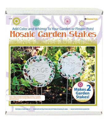 Diamond Tech Mosaic Garden Stakes Kit
