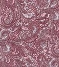 Buttercream™ Elizabeth Collection Cotton Fabric-Vibrant Paisley Gray