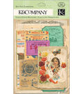 K&Company Cardstock Die-Cuts-Life\u0027s Journey Ephemera