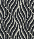 Williamsburg Upholstery Fabric 55\u0022-Lancashire/Black Orchid